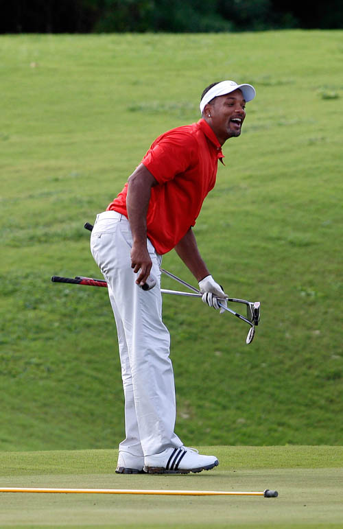 Will Smith Sharpens His Golf Game in Cabo