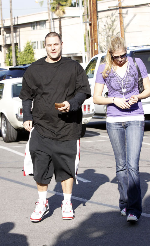 Kevin Federline & New Girlfriend Getting Lunch