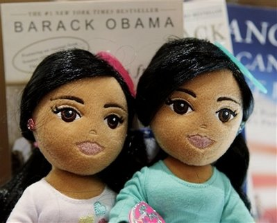 Obama Daughters Dolls