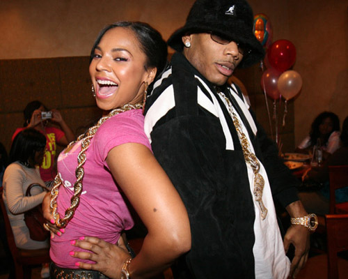 is ashanti dating nelly