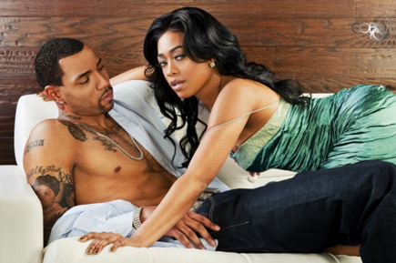 Trina and Kenyon Martin posed for Urban Ink Magazine to show the world their ...
