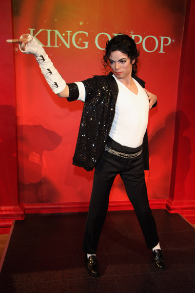 Hollywood wax museum michael jackson