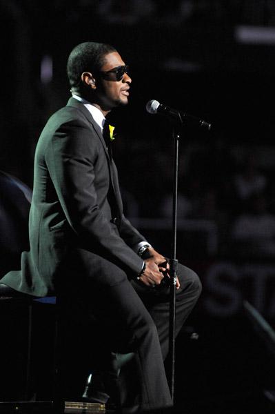 Usher f1