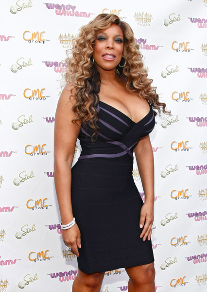 Wendy Williams hit up The Gates, last night for the launch party of The
