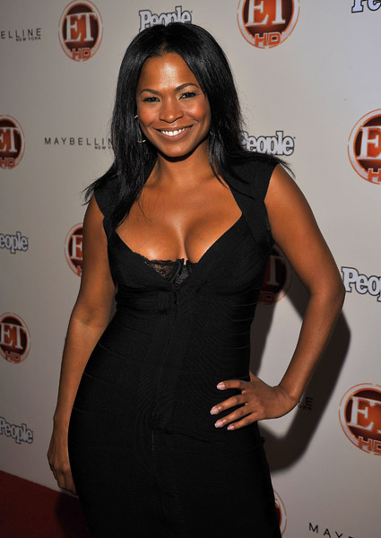 Are not nia long cleavage