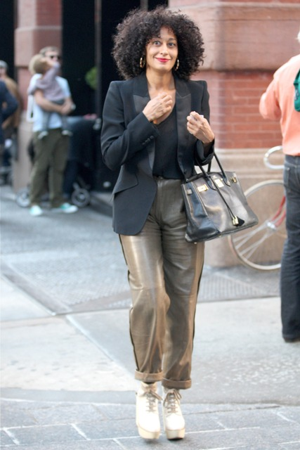 Tracee Ellis Ross was seen