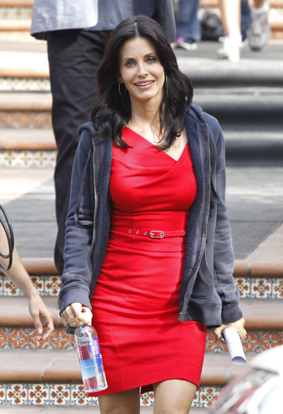 Courtney cox busty