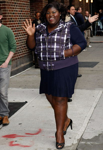 Kim Kardashian Reggie Bush Grinding Gabourey Sidibe Does T...