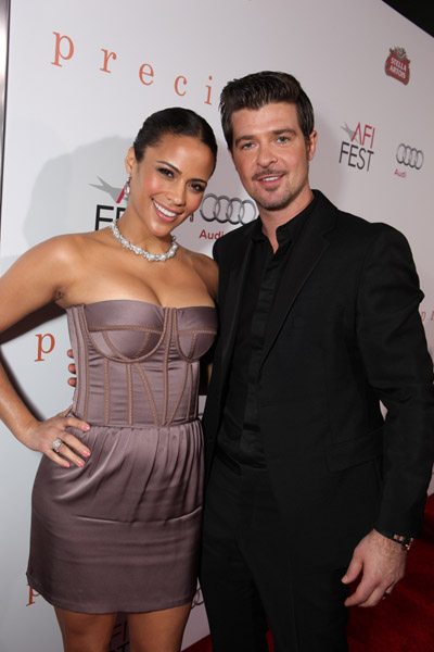 Charles Patton And Paula Patton Paula Patton Robin Thicke