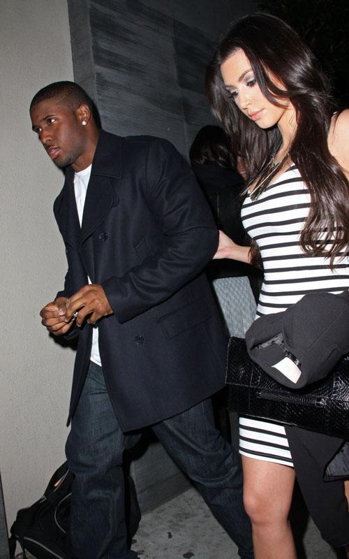 Um… Why Is Reggie Rockin' 3 Parts?? Lol « Media Outrage Reggie Bush Kim Kardashian Dancing