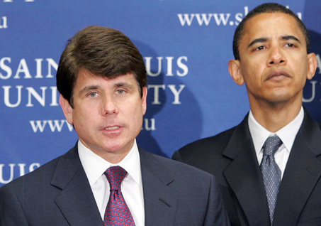 "rod blagojevich obama. Rod Blagojevich: ""I#39;m Blacker"