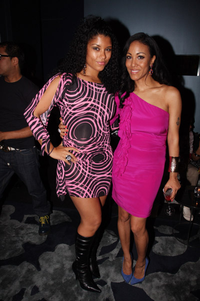 Shelly rio parties with publicist lexi chow for her birthday bash the gorgeous shelly rio posed for pictures with the altavistaventures Image collections